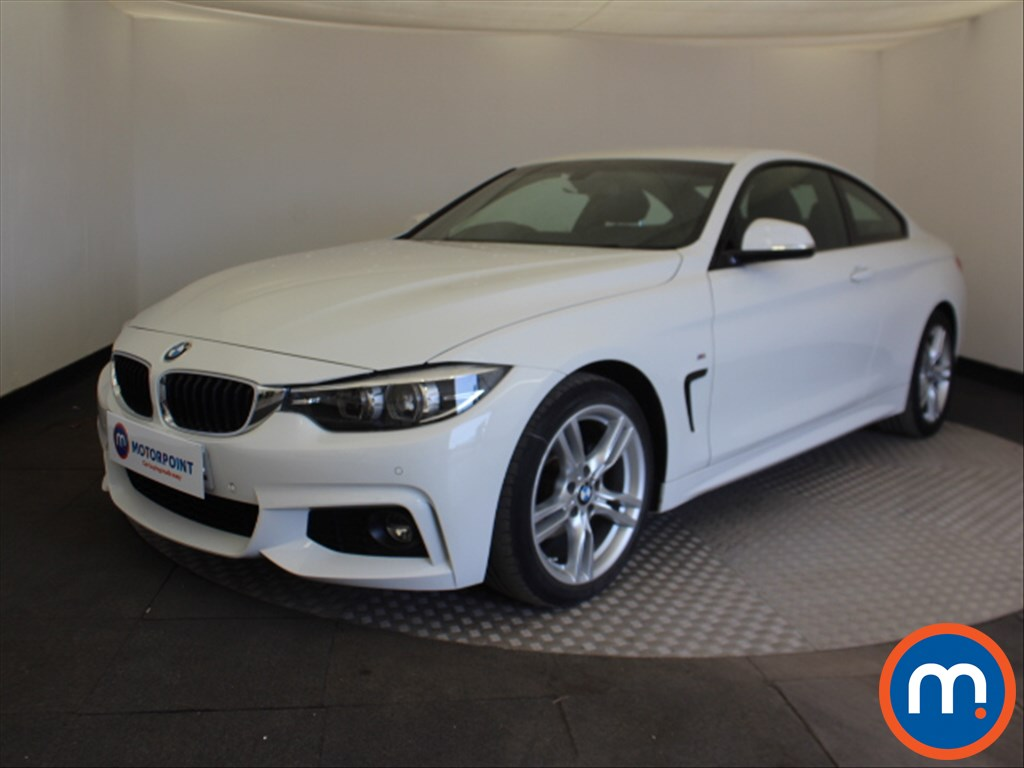 BMW 4 Series M Sport - Stock Number 1100739 Passenger side front corner