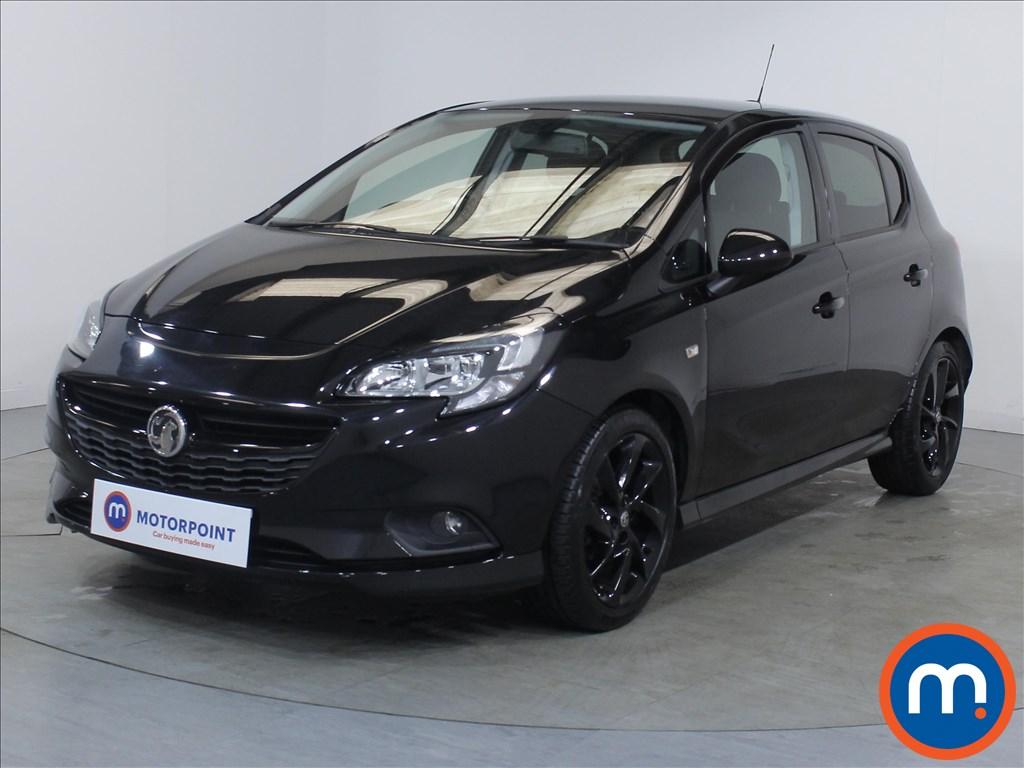Vauxhall Corsa SRi Vx-line Nav Black - Stock Number 1085305 Passenger side front corner