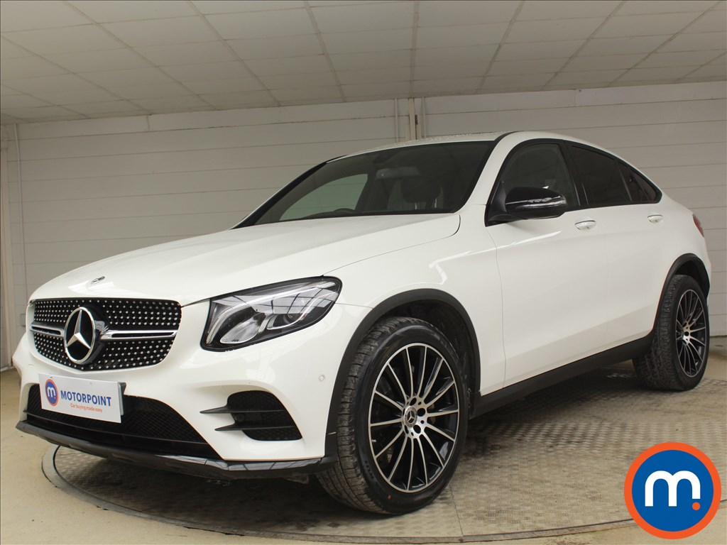 Mercedes-Benz Glc Coupe AMG Line - Stock Number 1096204 Passenger side front corner