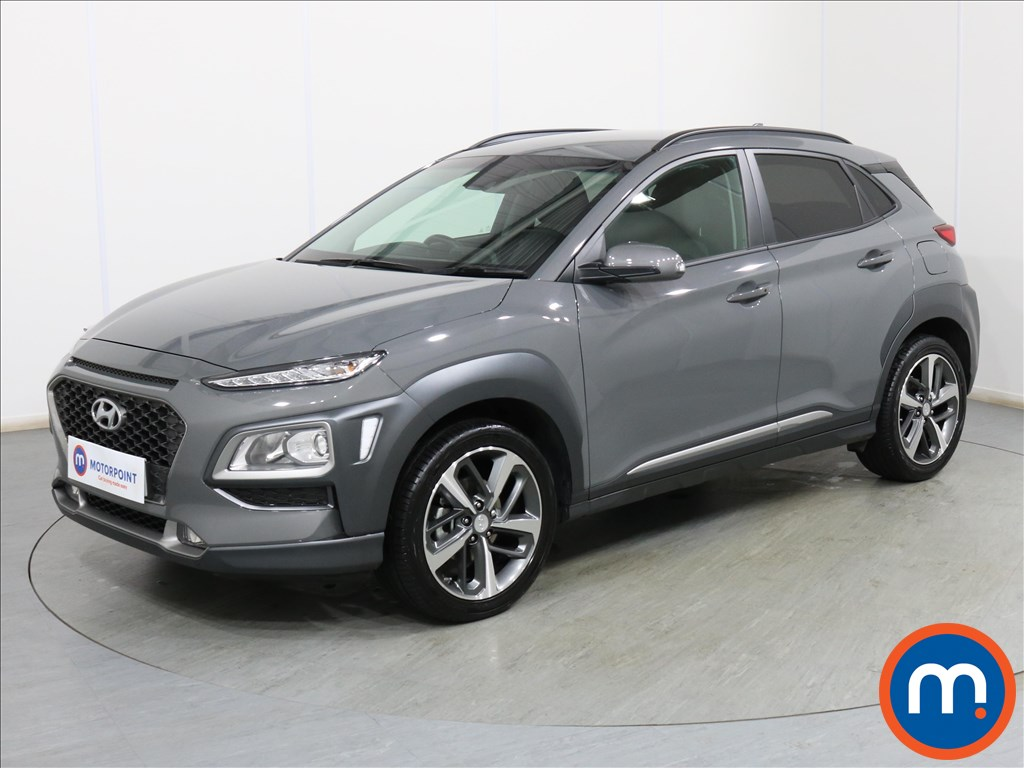 Hyundai Kona Premium - Stock Number 1100332 Passenger side front corner