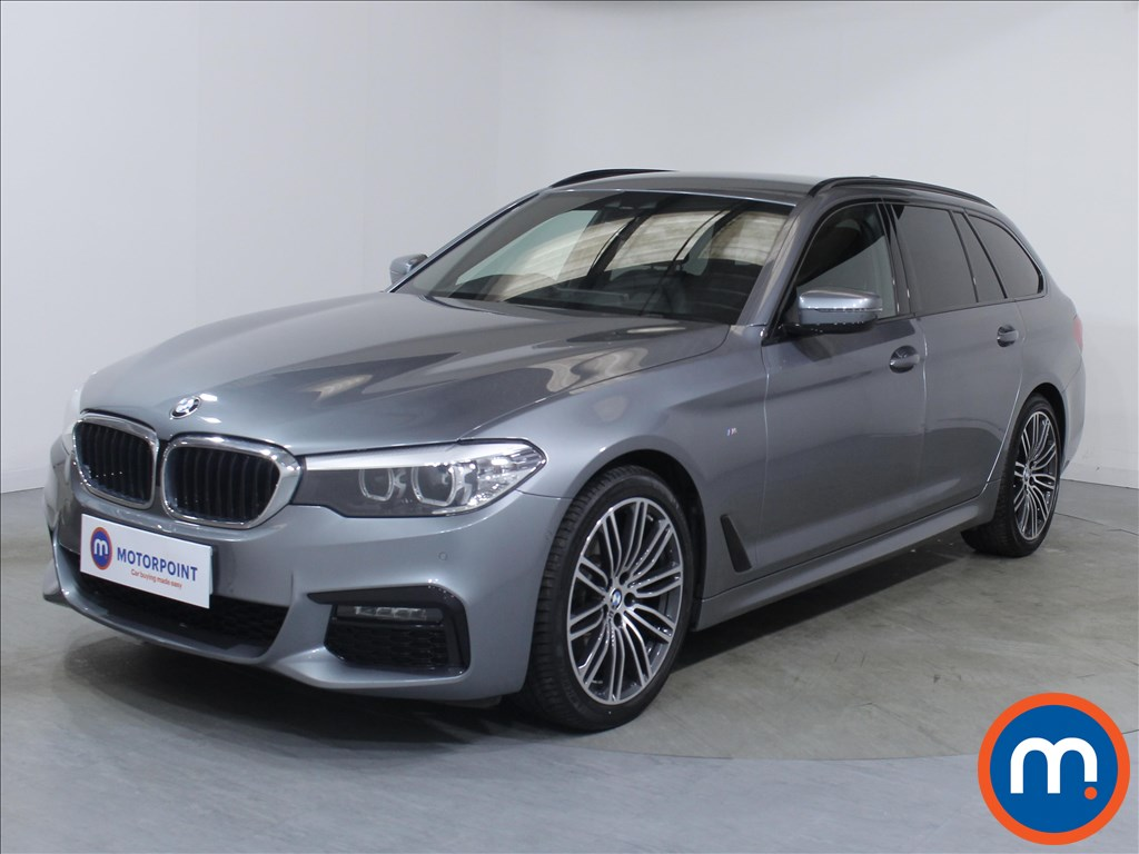 BMW 5 Series M Sport - Stock Number 1099555 Passenger side front corner