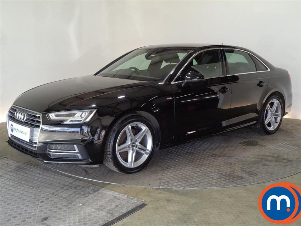 Audi A4 S Line - Stock Number 1098634 Passenger side front corner