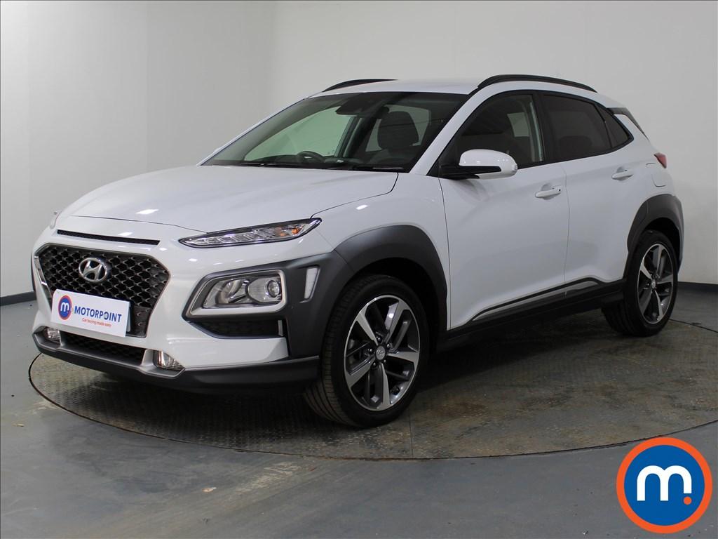 Hyundai Kona Premium - Stock Number 1096811 Passenger side front corner
