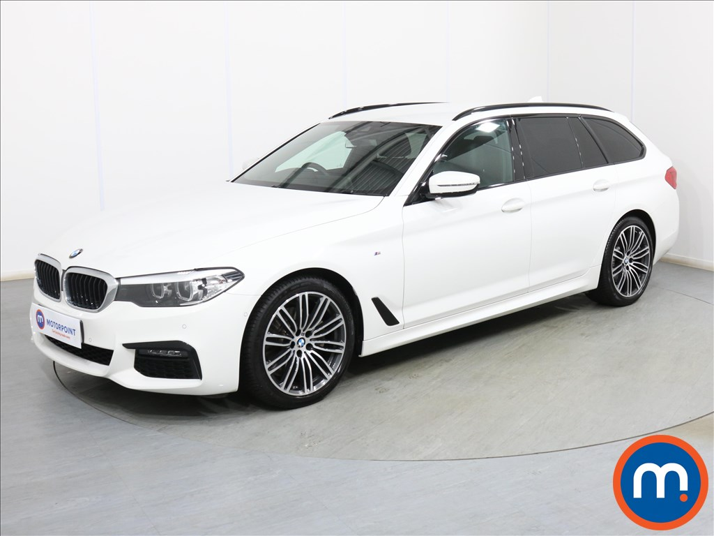 BMW 5 Series M Sport - Stock Number 1102059 Passenger side front corner