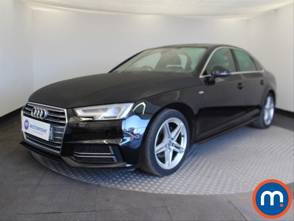 Audi A4 S Line - Stock Number 1100524 Passenger side front corner