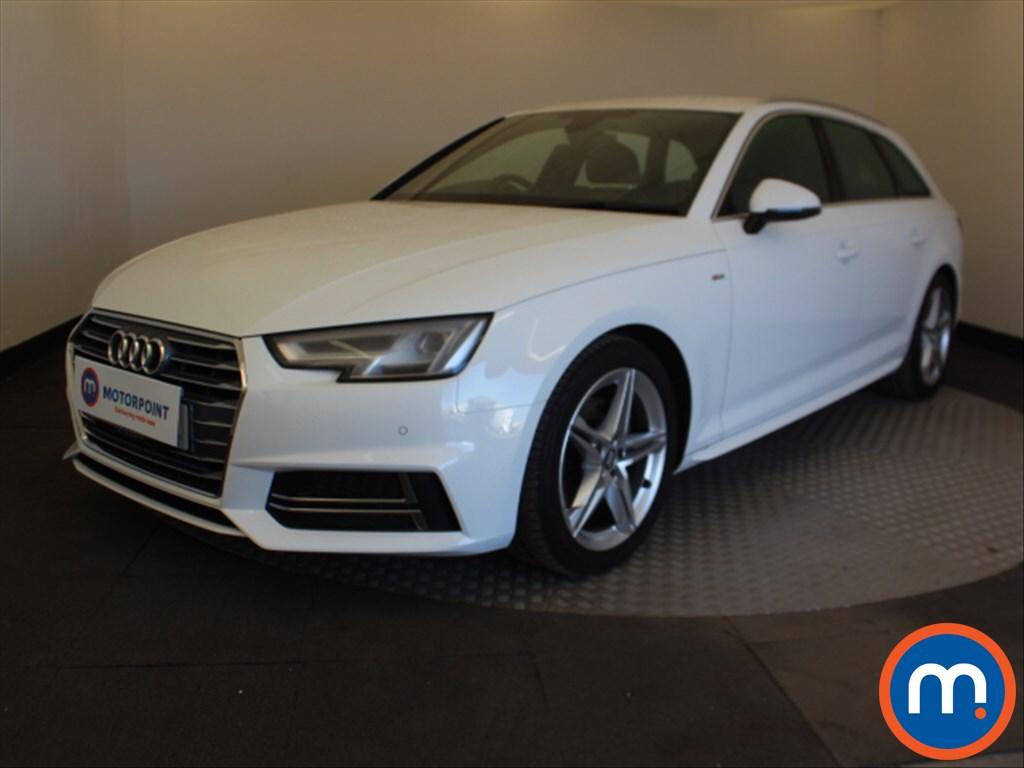 Audi A4 S Line - Stock Number 1099847 Passenger side front corner