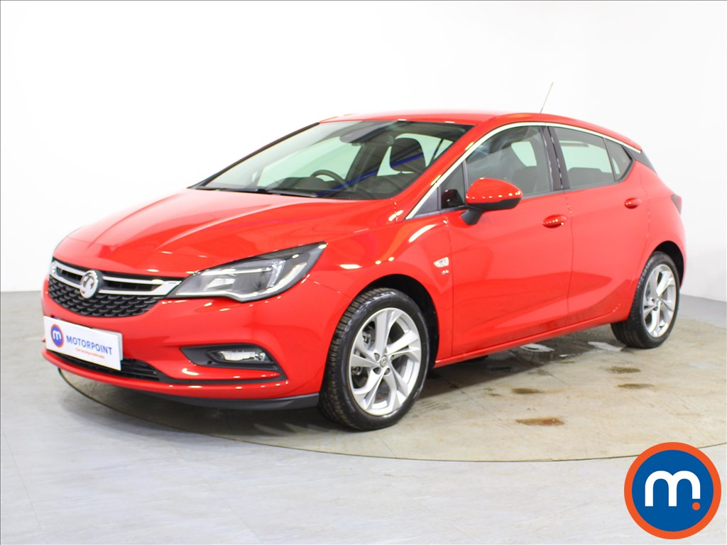 Vauxhall Astra SRi - Stock Number 1098091 Passenger side front corner