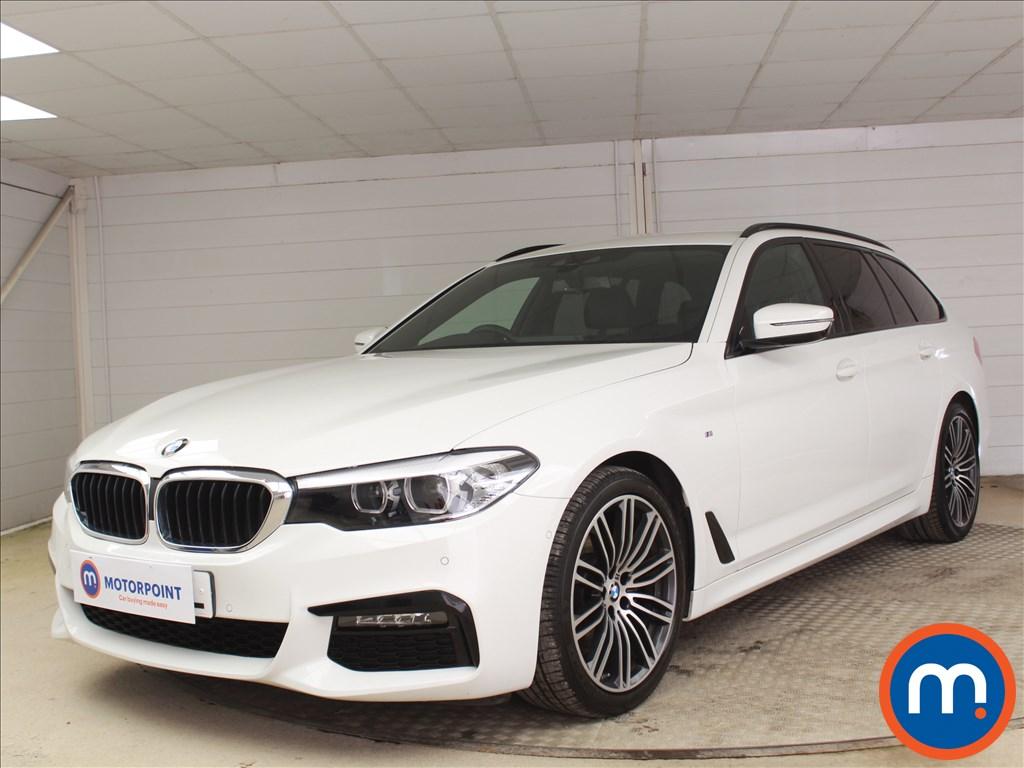 BMW 5 Series M Sport - Stock Number 1095181 Passenger side front corner