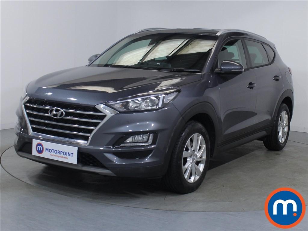 Hyundai Tucson SE Nav - Stock Number 1096654 Passenger side front corner