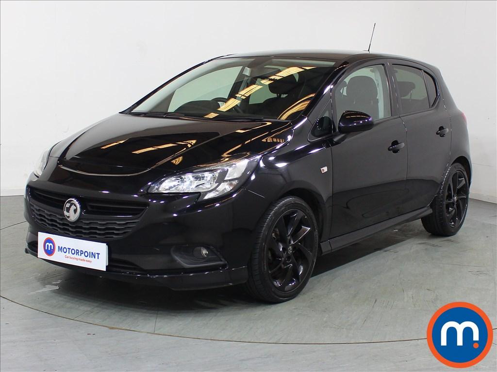 Vauxhall Corsa SRi Vx-line Nav Black - Stock Number 1095992 Passenger side front corner