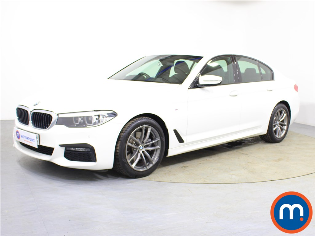 BMW 5 Series M Sport - Stock Number 1096065 Passenger side front corner
