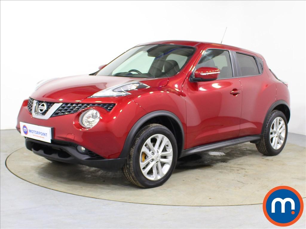 Nissan Juke N-Connecta - Stock Number 1097871 Passenger side front corner