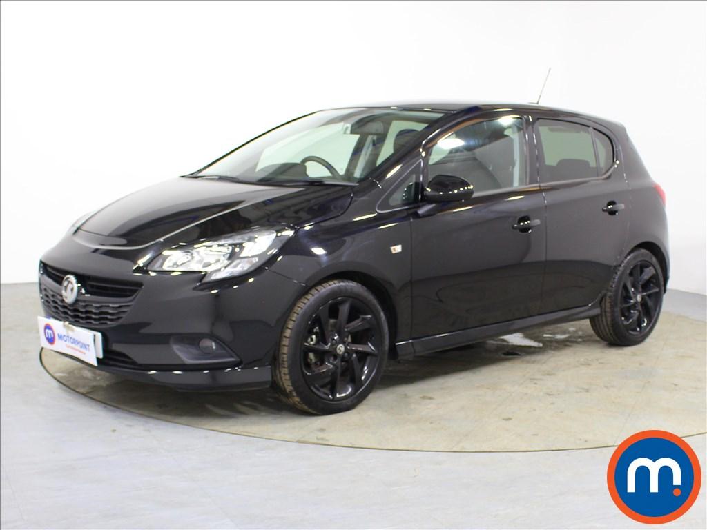 Vauxhall Corsa SRi Vx-line Nav Black - Stock Number 1096003 Passenger side front corner