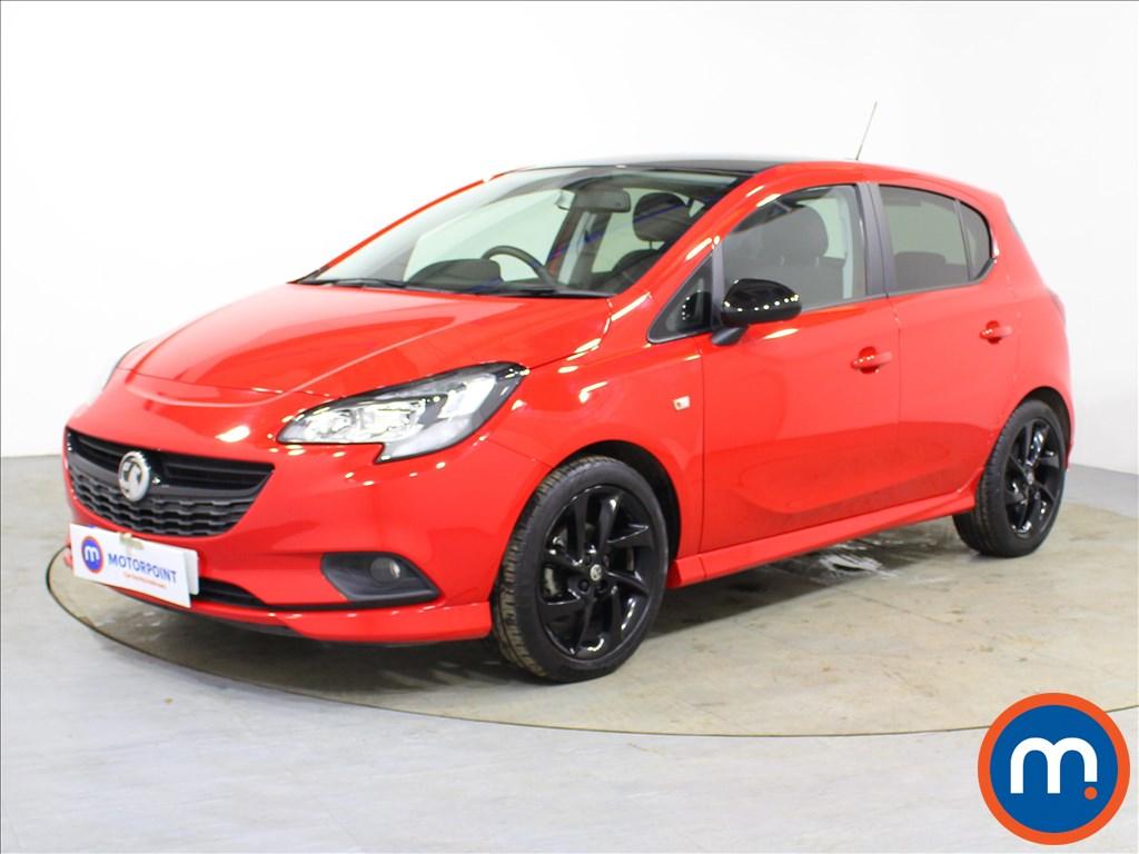 Vauxhall Corsa SRi Vx-line Nav Black - Stock Number 1092822 Passenger side front corner