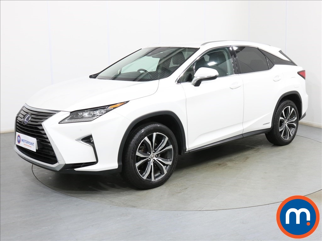 Lexus RX Luxury - Stock Number 1099422 Passenger side front corner