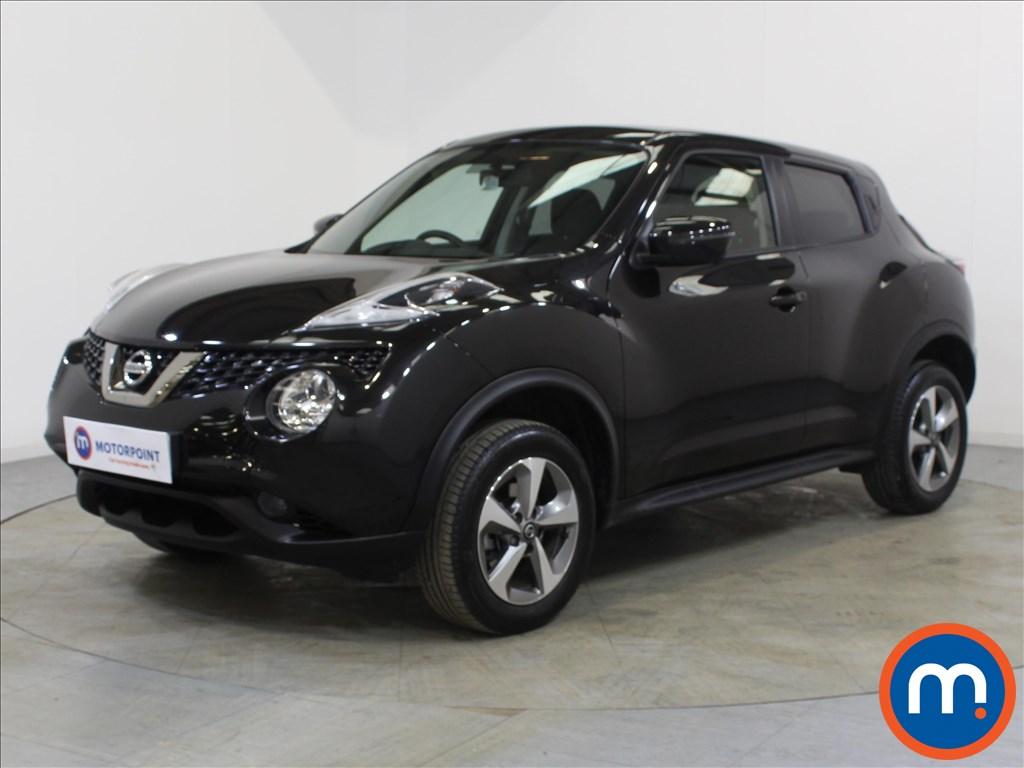 Nissan Juke Acenta - Stock Number 1098261 Passenger side front corner