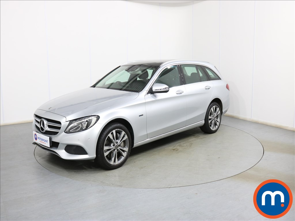 Mercedes-Benz C Class Sport - Stock Number 1103225 Passenger side front corner
