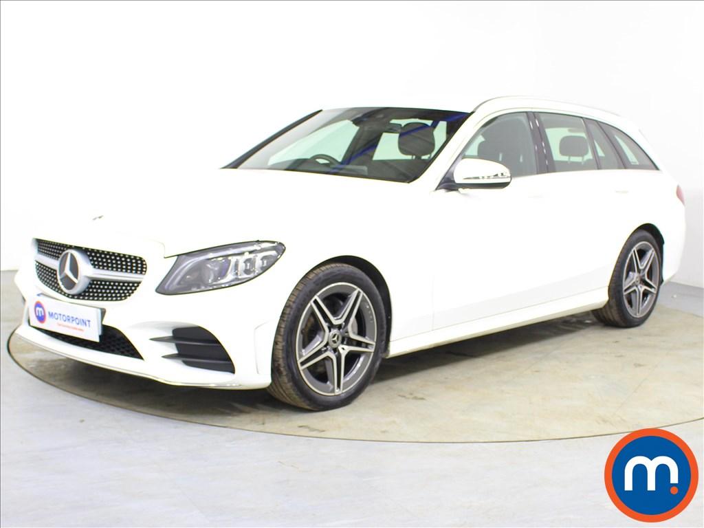 Mercedes-Benz C Class AMG Line - Stock Number 1094129 Passenger side front corner