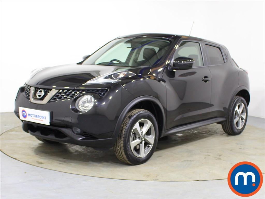 Nissan Juke Acenta - Stock Number 1098254 Passenger side front corner