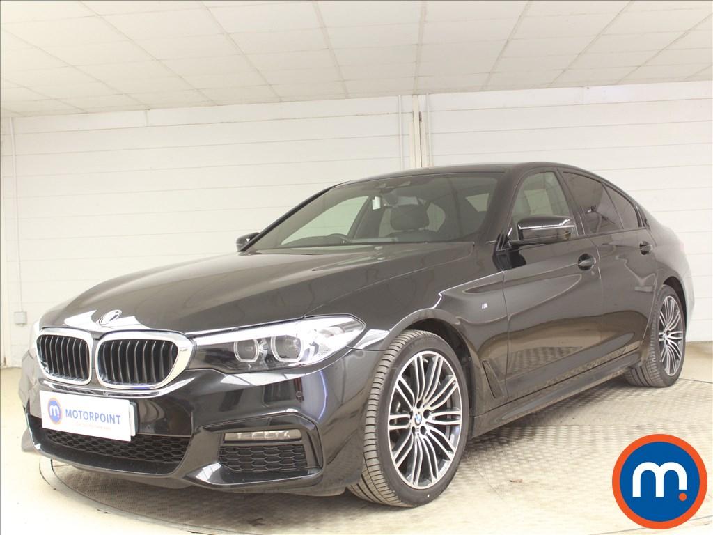 BMW 5 Series M Sport - Stock Number 1097142 Passenger side front corner