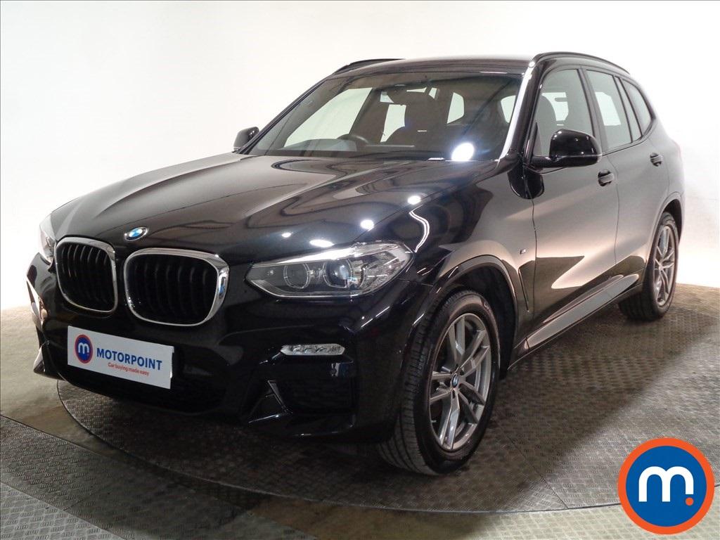 BMW X3 M Sport - Stock Number 1097377 Passenger side front corner