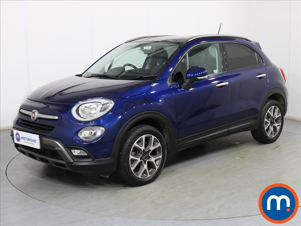 Fiat 500X Cross - Stock Number 1101179 Passenger side front corner