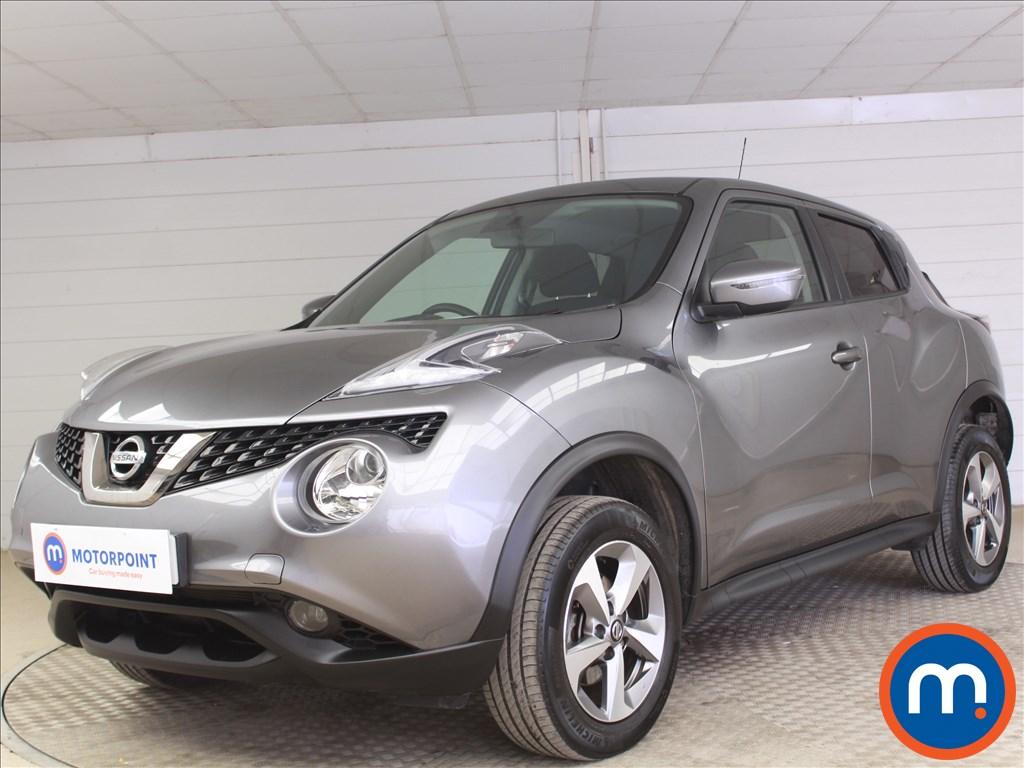 Nissan Juke Acenta - Stock Number 1092026 Passenger side front corner
