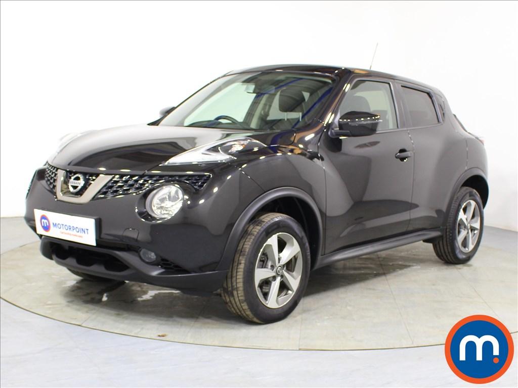 Nissan Juke Acenta - Stock Number 1098239 Passenger side front corner