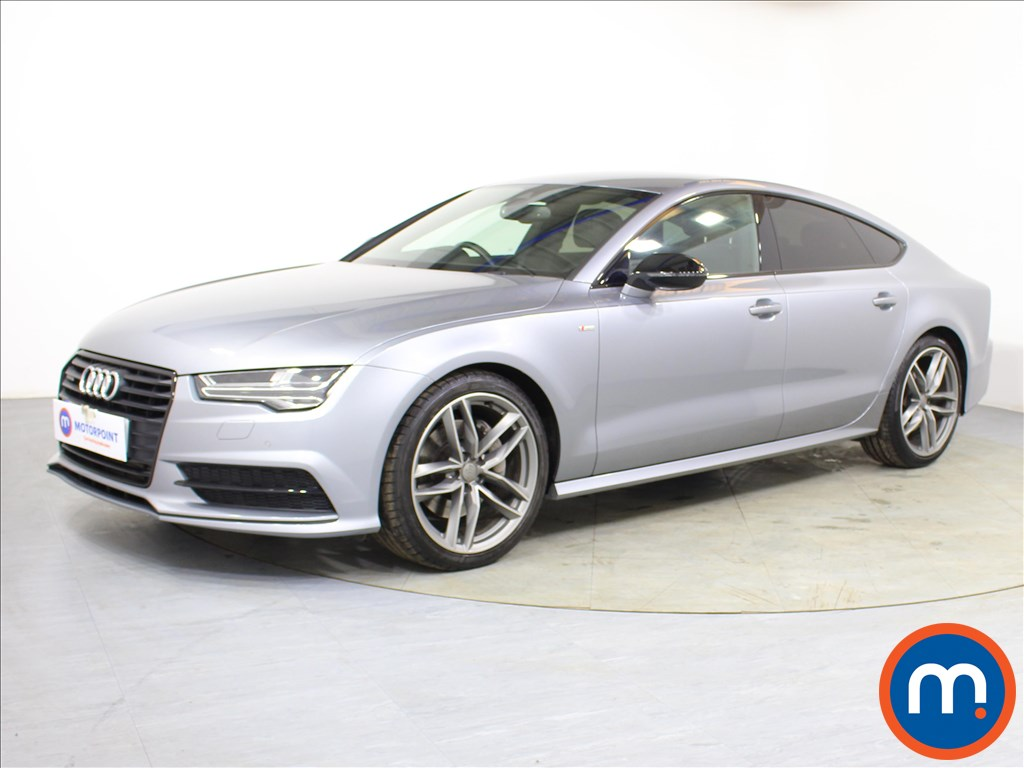 Audi A7 Black Edition - Stock Number 1093489 Passenger side front corner