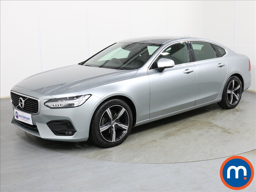 Volvo S90 R DESIGN - Stock Number 1101933 Passenger side front corner