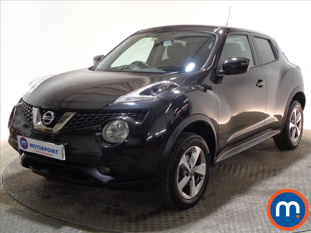Nissan Juke Acenta - Stock Number 1098231 Passenger side front corner