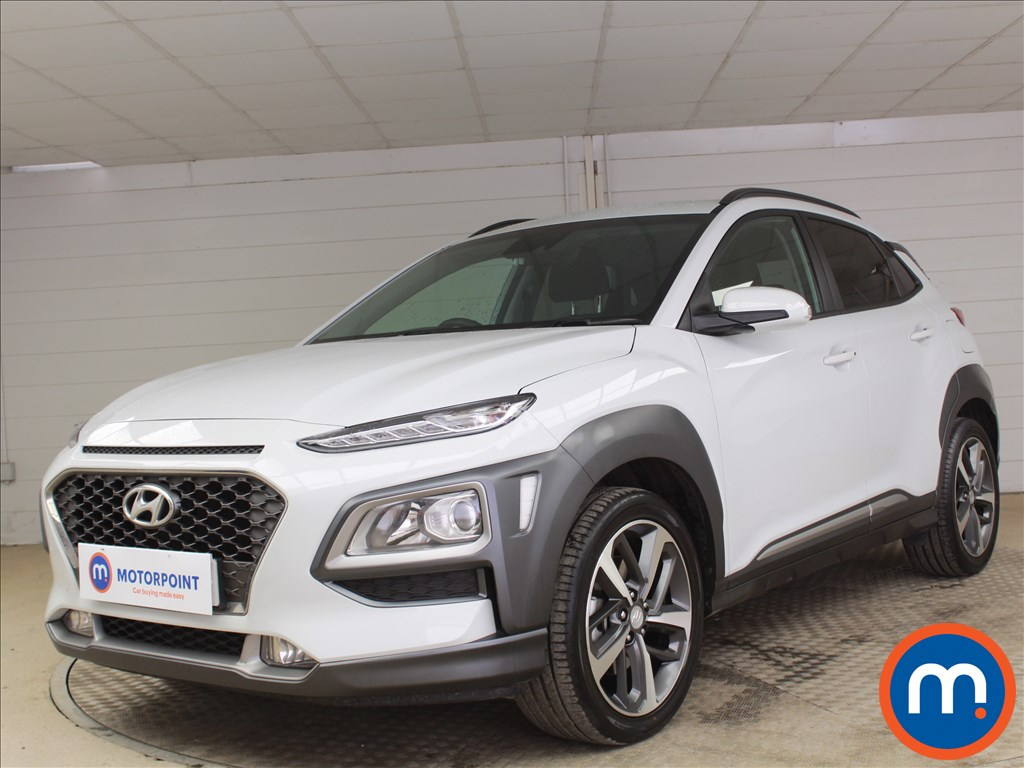 Hyundai Kona Premium - Stock Number 1096605 Passenger side front corner