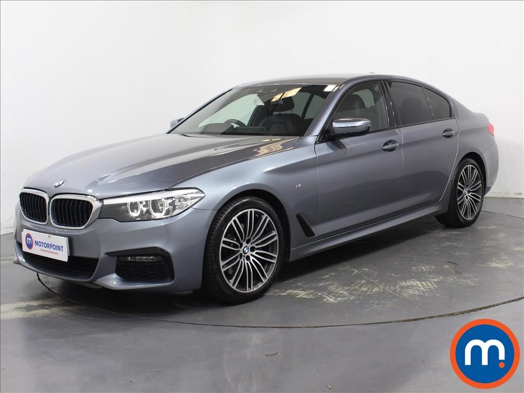 BMW 5 Series M Sport - Stock Number 1095147 Passenger side front corner