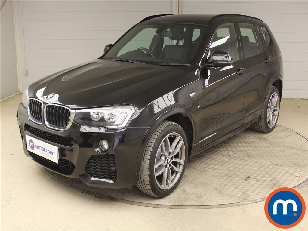 BMW X3 M Sport - Stock Number 1096320 Passenger side front corner