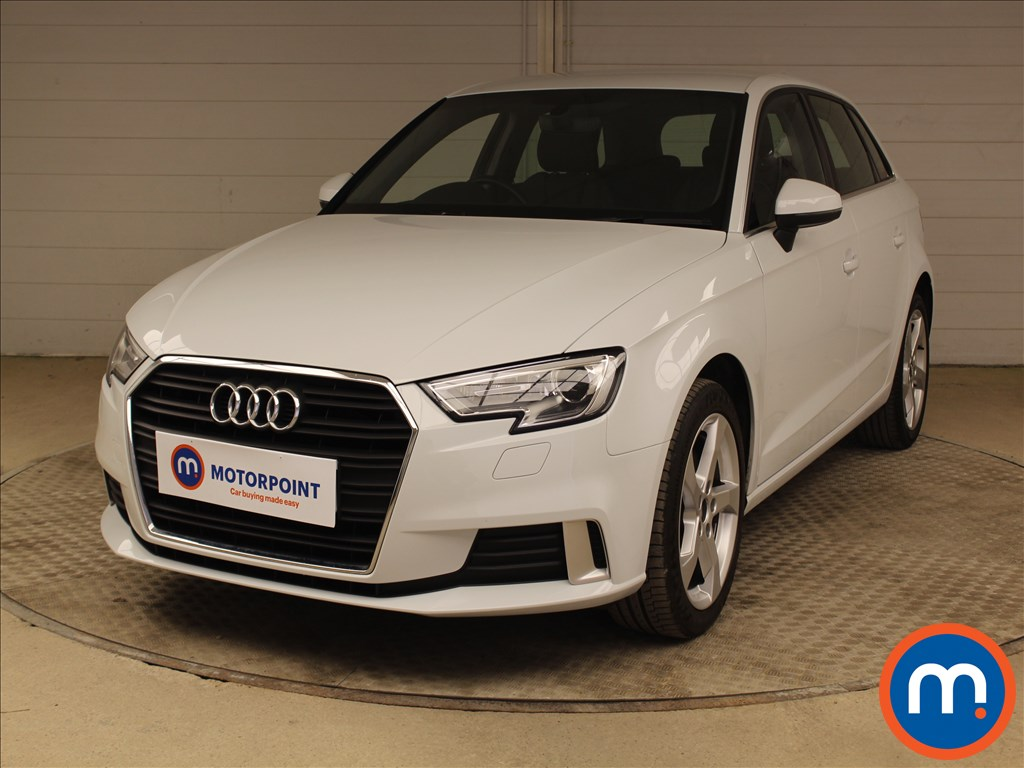 Audi A3 Sport - Stock Number 1094646 Passenger side front corner