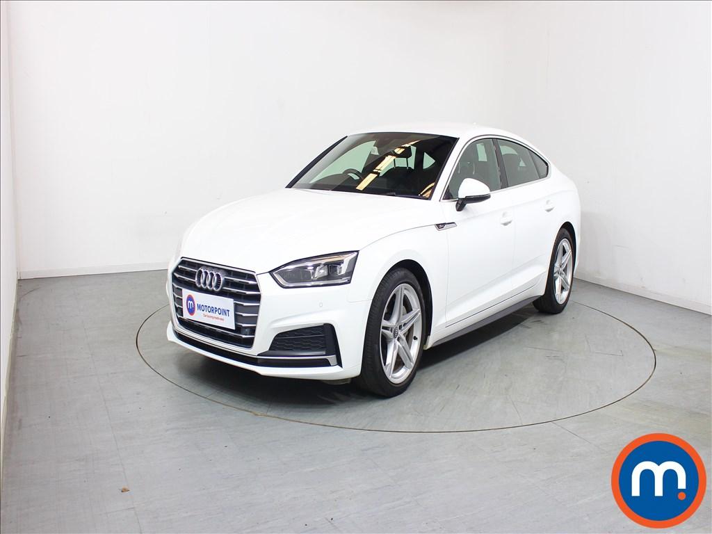 Audi A5 S Line - Stock Number 1102390 Passenger side front corner