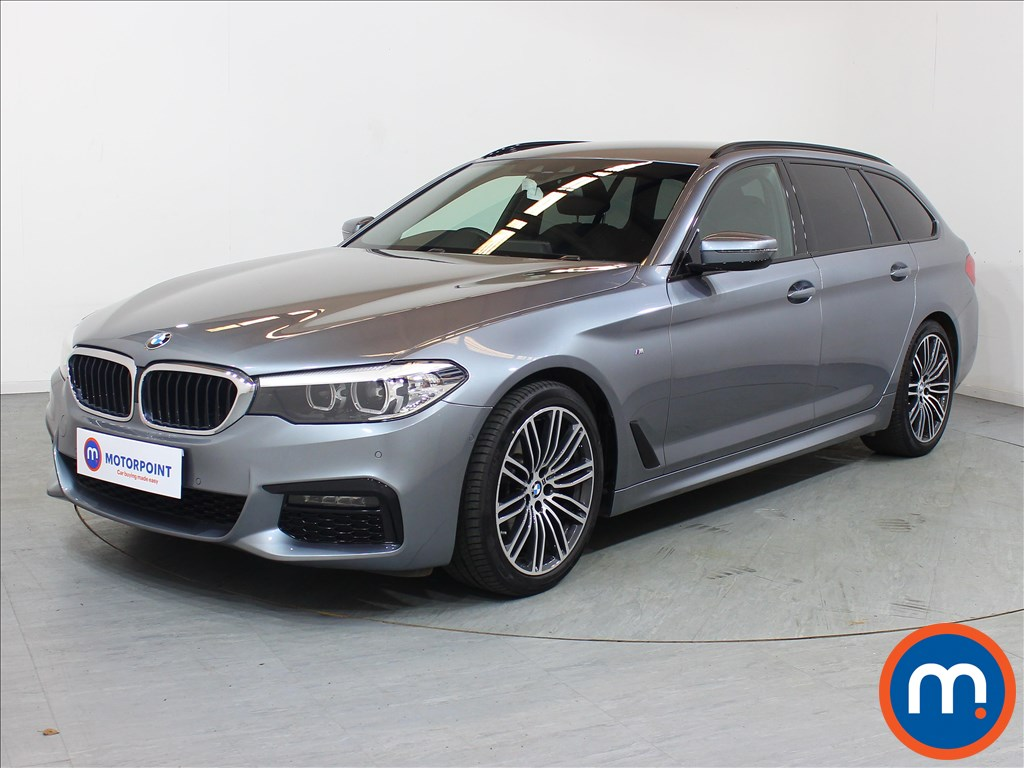 BMW 5 Series M Sport - Stock Number 1095180 Passenger side front corner