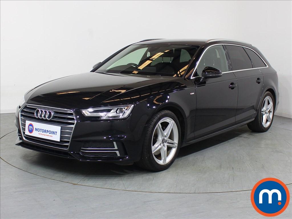 Audi A4 S Line - Stock Number 1099883 Passenger side front corner