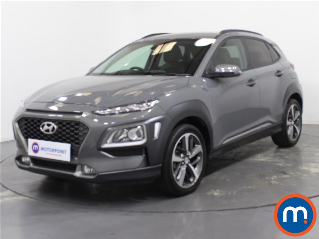 Hyundai Kona Premium - Stock Number 1096762 Passenger side front corner