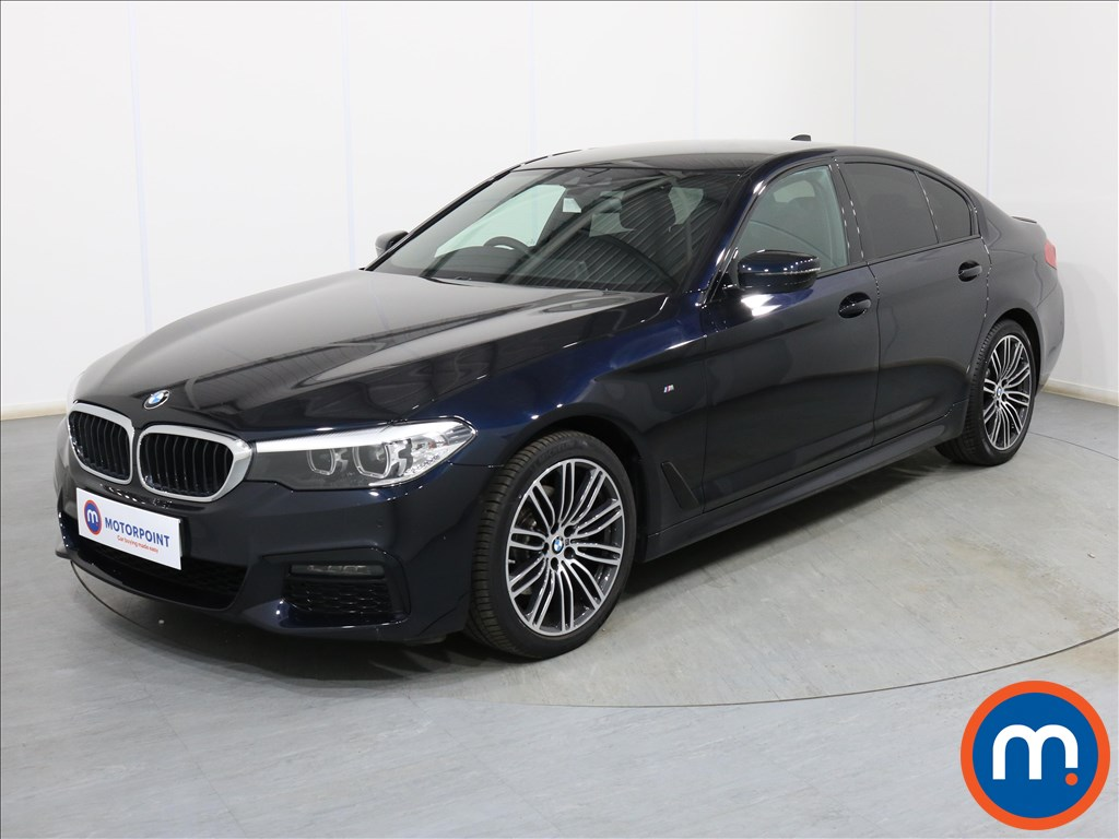 BMW 5 Series M Sport - Stock Number 1095148 Passenger side front corner