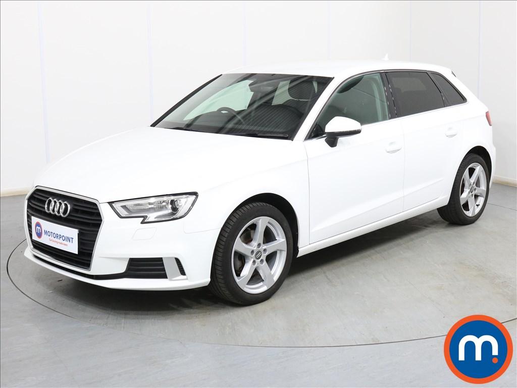 Audi A3 Sport - Stock Number 1100036 Passenger side front corner