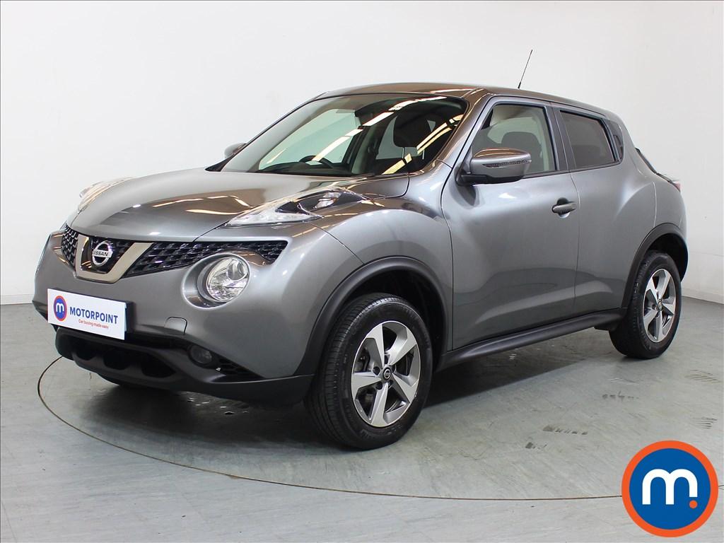 Nissan Juke Acenta - Stock Number 1100982 Passenger side front corner