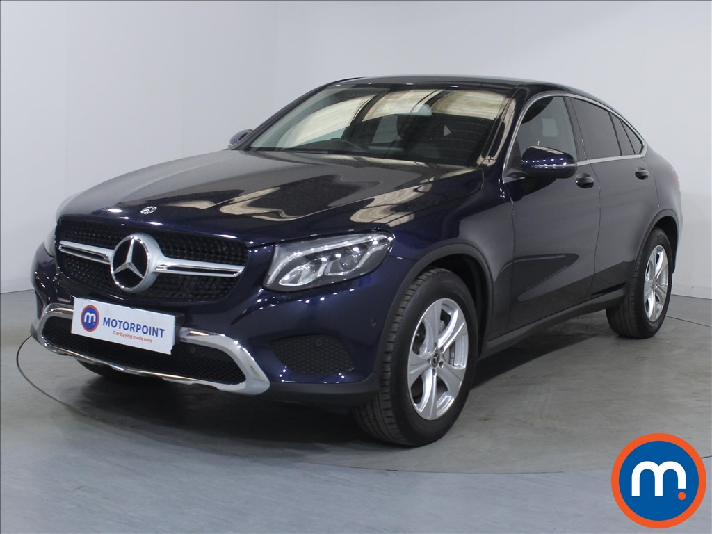 Mercedes-Benz Glc Coupe Sport - Stock Number 1099714 Passenger side front corner