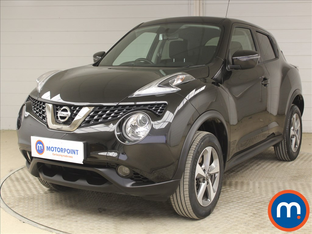 Nissan Juke Acenta - Stock Number 1098235 Passenger side front corner