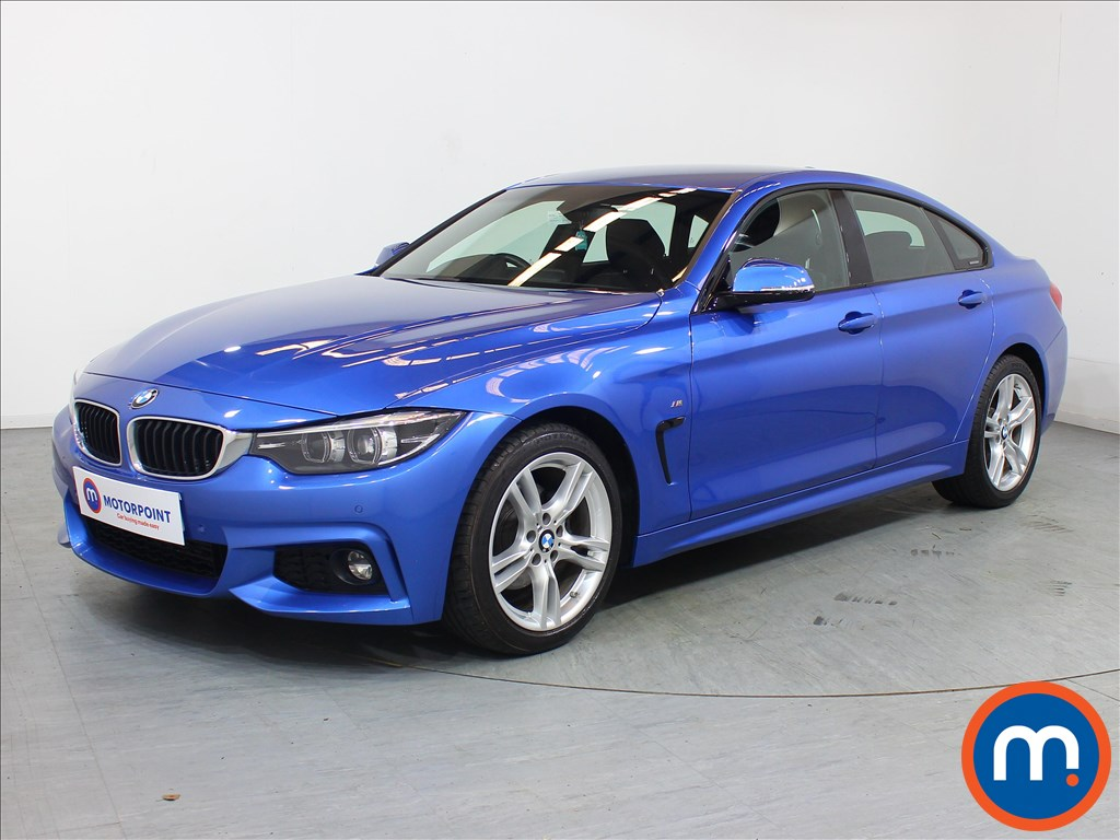 BMW 4 Series M Sport - Stock Number 1099667 Passenger side front corner