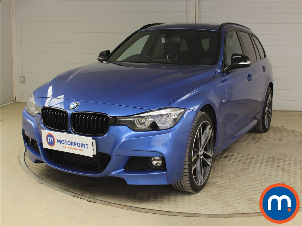 BMW 3 Series M Sport Shadow Edition - Stock Number 1098456 Passenger side front corner