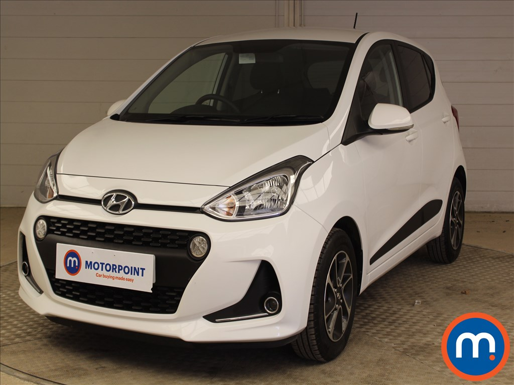 Hyundai I10 Premium - Stock Number 1095380 Passenger side front corner