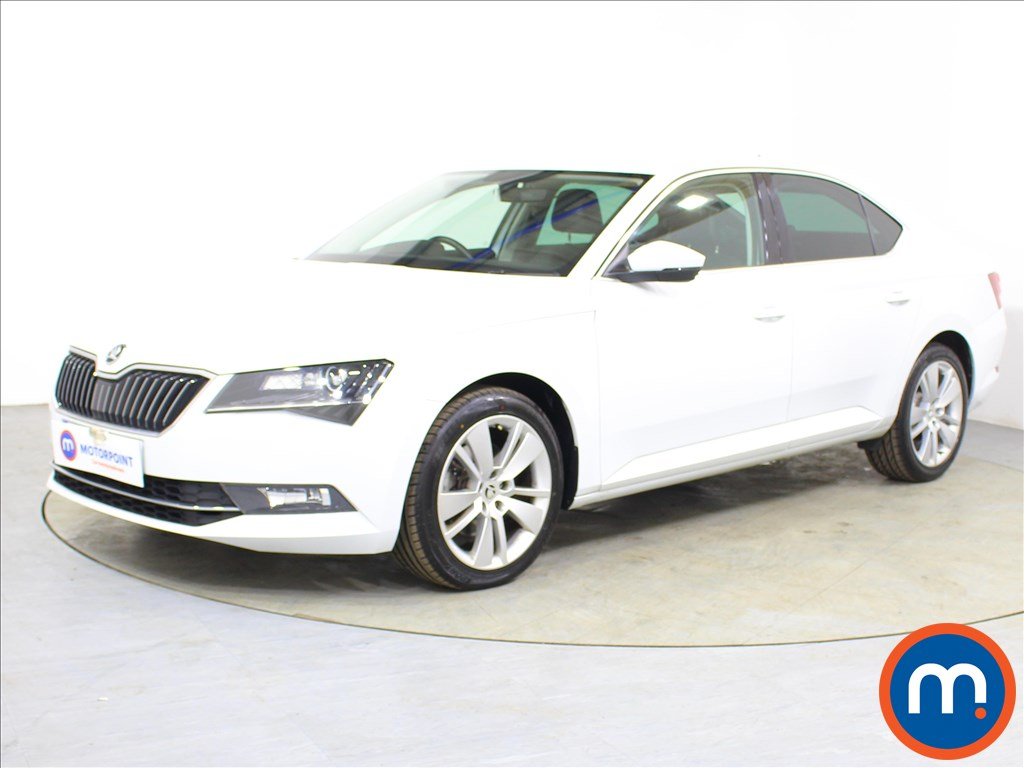 Skoda Superb SE L Executive - Stock Number 1099400 Passenger side front corner
