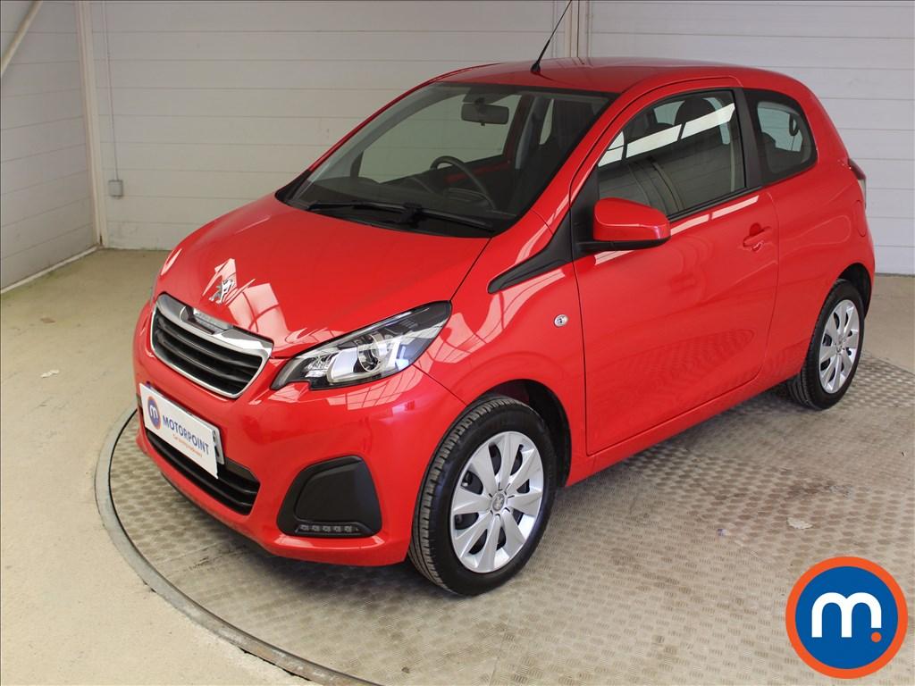 Peugeot 108 Active - Stock Number 1102220 Passenger side front corner