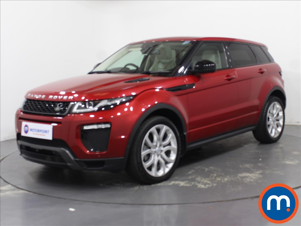 Land Rover Range Rover Evoque HSE Dynamic Lux - Stock Number 1097770 Passenger side front corner